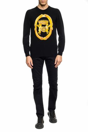Medusa head sweater od Versace