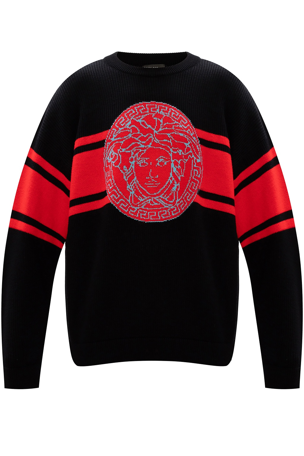 Versace Wool sweater with logo