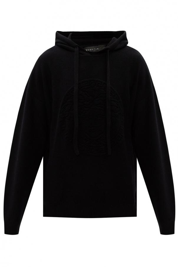 Versace Wool hoodie