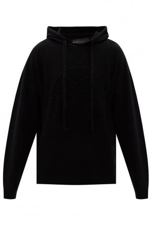 Wool hoodie od Versace