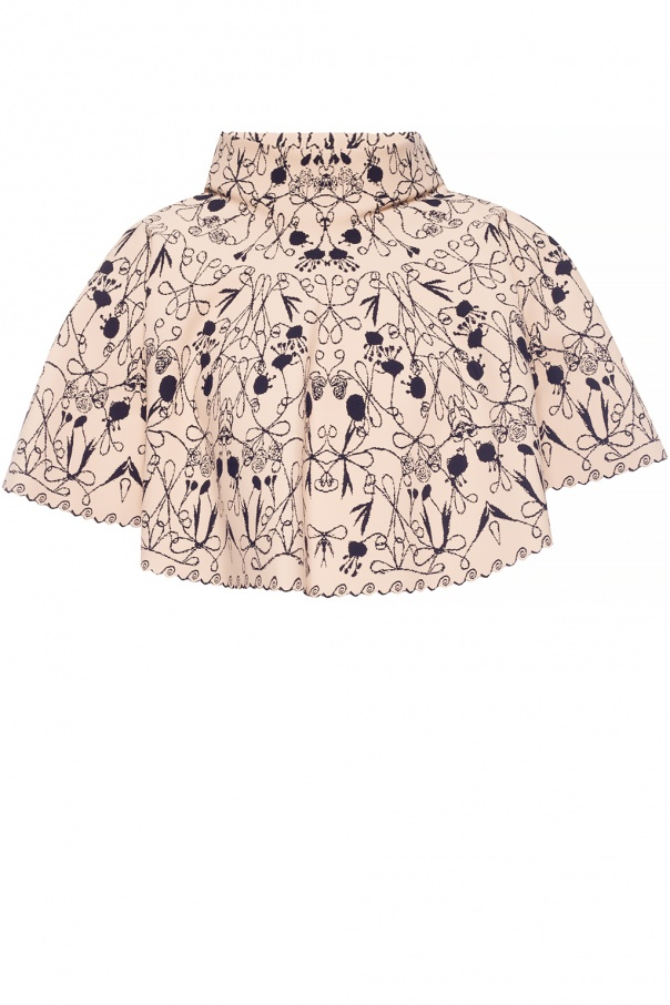 Alaia Embroidered top