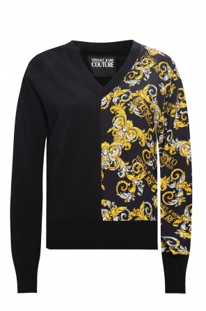 Logo sweater od Versace Jeans Couture