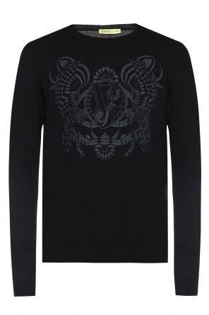 Printed sweater od Versace Jeans