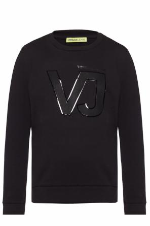Sweatshirt with raised logo od Versace Jeans