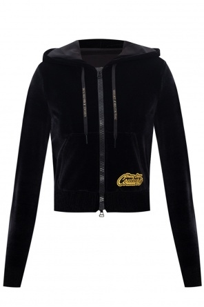 Velvet hoodie od Versace Jeans Couture