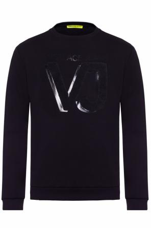 Logo-embroidered sweatshirt od Versace Jeans