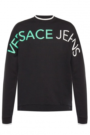 Round neck sweatshirt od Versace Jeans Couture