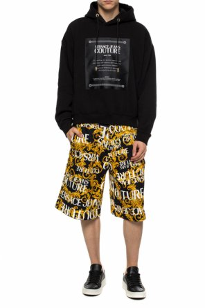 Patched sweatshirt od Versace Jeans Couture