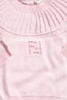 Fendi Kids 品牌编织毛衣