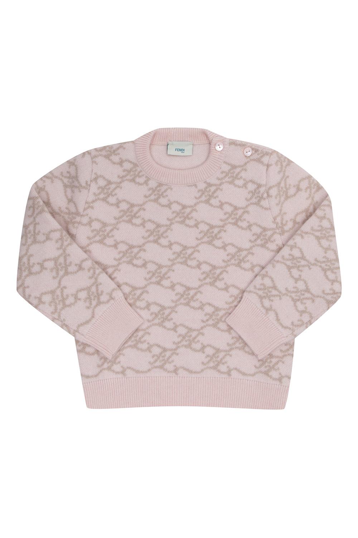 Fendi Kids Sweater with logo