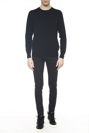 Embroidered pattern sweater od Givenchy