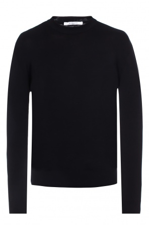 Logo-embroidered sweater od Givenchy