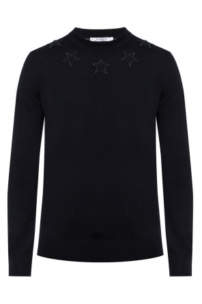 Patched sweater od Givenchy