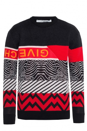 Logo-embroidered sweatshirt od Givenchy