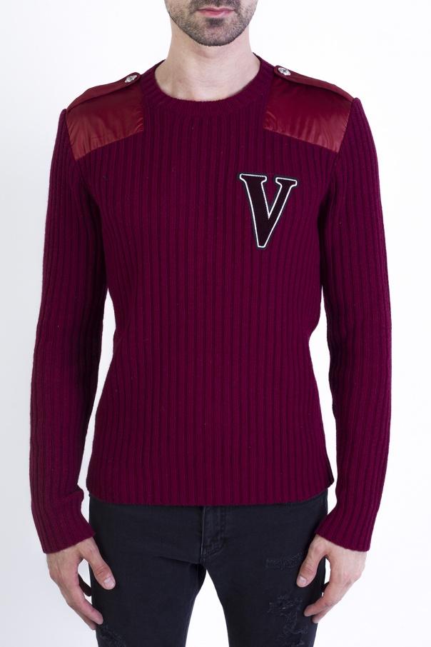 54f3a71b58e2 Sweater with epaulettes Versace Versus - Vitkac shop online