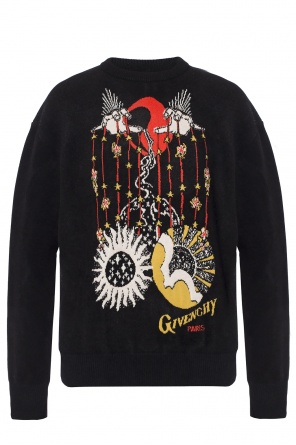 Sweater with an embroidered pattern od Givenchy