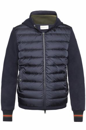 Jacket with cotton sleeves od Moncler