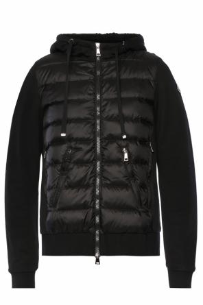 Down front sweatshirt od Moncler