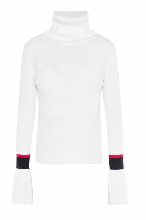 Logo turtleneck sweater od Moncler
