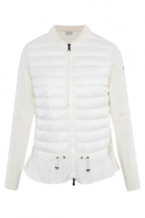 Quilted front sweater od Moncler
