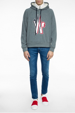 Sweatshirt with down collar od Moncler Grenoble