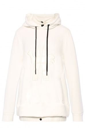 Sweatshirt with down appliques od Moncler Grenoble
