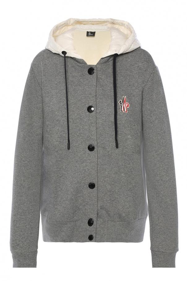 10662ebb9cc9 Sweatshirt with down hood Moncler Grenoble - Vitkac shop online