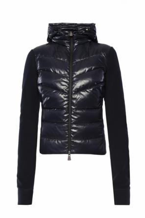 Quilted hooded sweatshirt od Moncler Grenoble