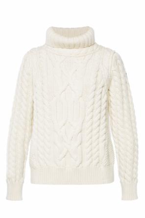 Braided turtleneck sweater od Moncler Grenoble