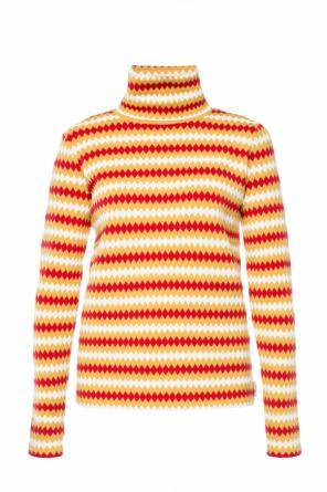 Patterned turtleneck sweater od Moncler Grenoble