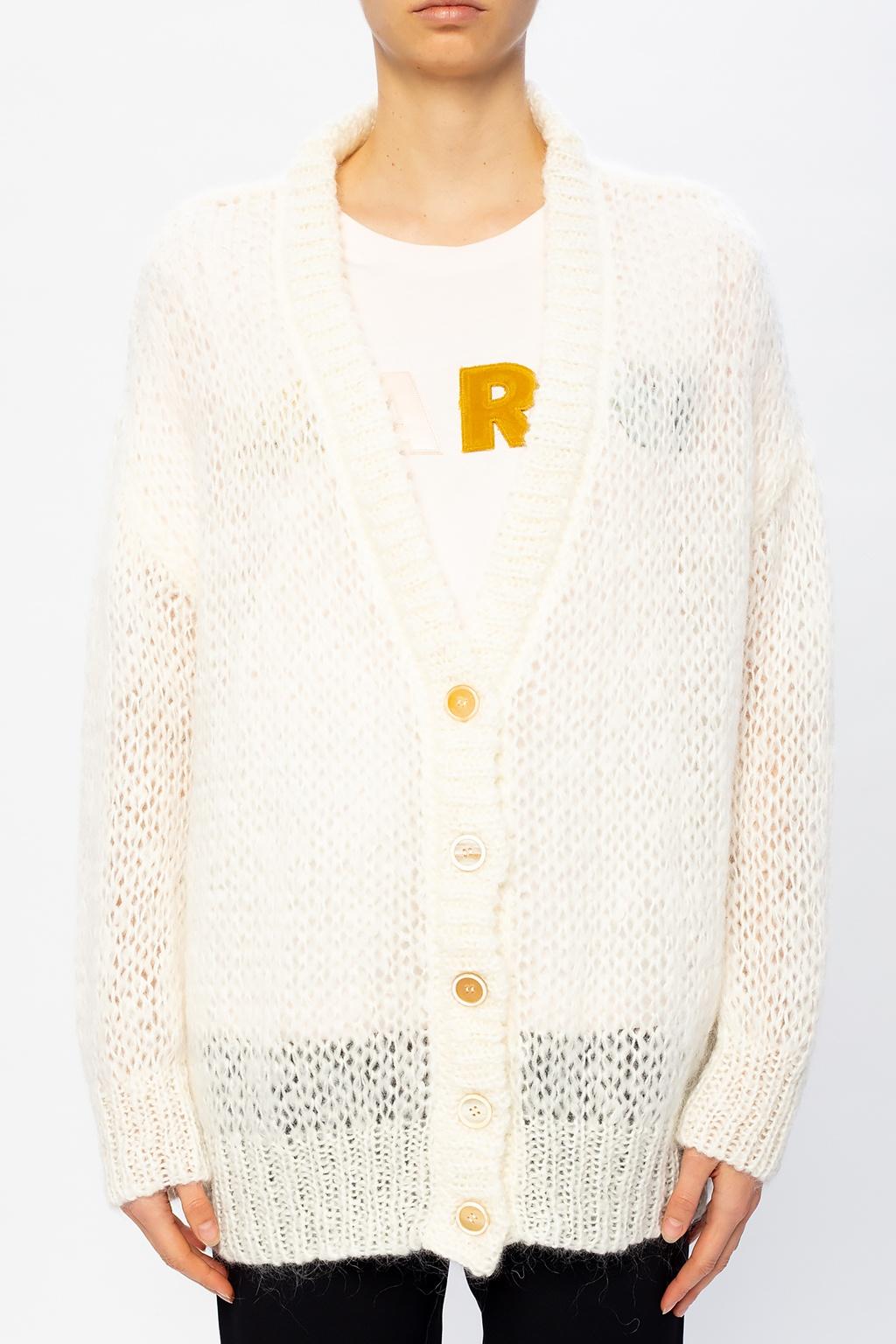 Marni Oversize knitted cardigan