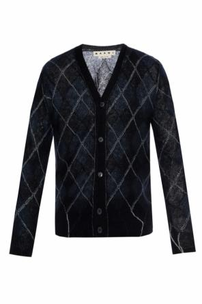 Checked cardigan od Marni