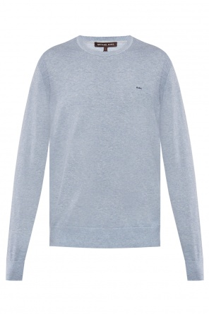 Logo-embroidered sweater od Michael Kors