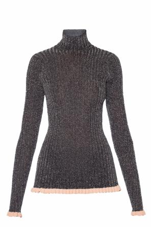 Ruffled turtleneck top od Chloe