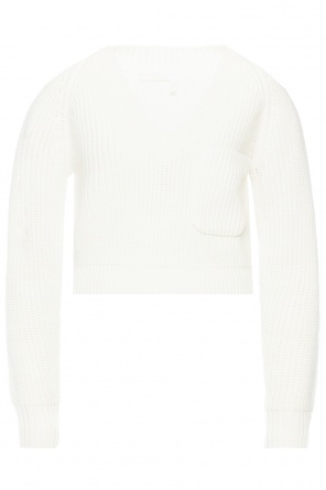 Cropped sweater with pocket od Chloe