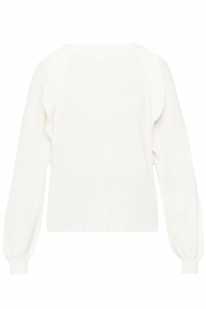 Frilled sweater od Chloe
