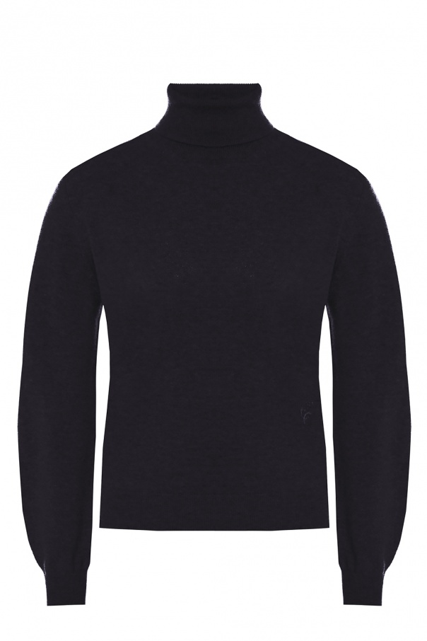 Logo-embroidered turtleneck sweater od Chloe