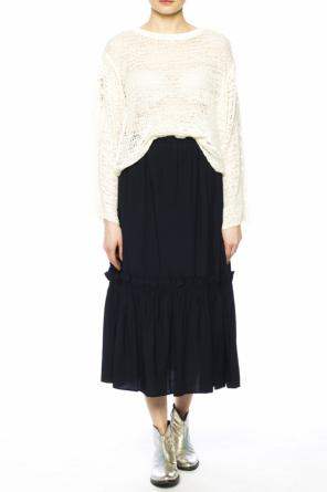 Openwork-trim sweater od See By Chloe