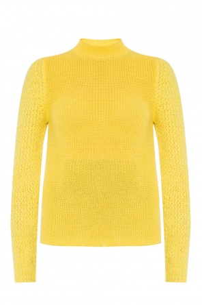 Ribbed long sleeve sweater od See By Chloe
