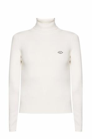Logo-patched turtleneck sweater od See By Chloe