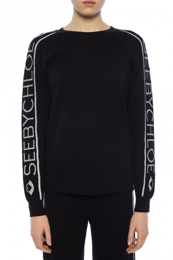 Logo sweater od See By Chloe