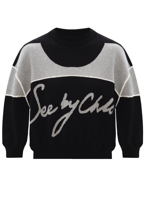 See By Chloe Logo sweatshirt