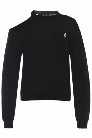 Open-shoulder sweater od Marcelo Burlon