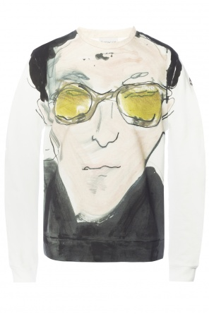 Sweatshirt with handmade pattern od Moncler