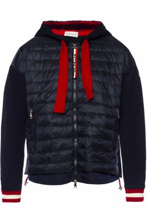 Quilted hooded jacket od Moncler