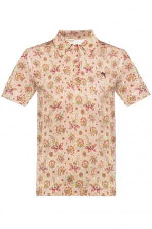Patterned short sleeve top od Etro