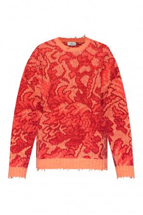 Patterned sweater od Etro