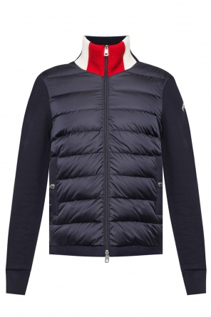 Quilted jacket with logo od Moncler