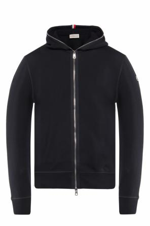 Hooded sweatshirt with logo od Moncler