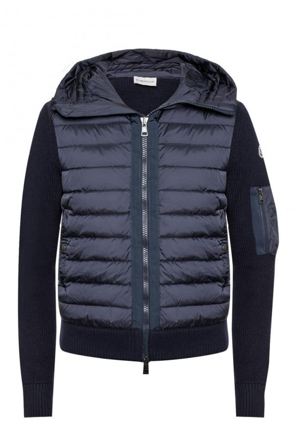 b29c04937 Hooded quilted down jacket Moncler - Vitkac shop online